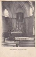 Haute-Saône - Courtesoult - Intérieur De L'église - Francia