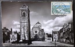 CPSM 35 SAINT AUBIN DU CORMIER - La Vieille Tour Et L'Eglise - Gaby 10 - Réf. D 159 - Redon