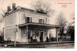 Landes : Cazères Sur L'Adour : La Gare - Frankreich