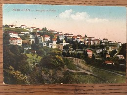 CPA, Vue Générale D'ALEY, écrite, - Libano