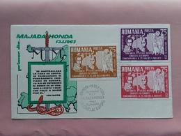 ROMANIA 1962 - F.D.C. 25° Anniversario Majadahonda + Spese Postali - FDC