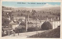 COURS - VUE GENERALE - QUARTIER DE L'ISLE - Cours-la-Ville