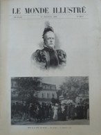 1902 MORT DE LA REINE DES BELGES - RESIDENSE DE SPA - SAINT SEBASTIEN EGLISE SANTA MARIA - PALAIS MIRAMAR - Livres, BD, Revues