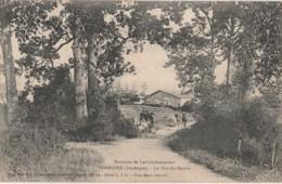 B4-  24) ENVIRONS DE LAROCHEBEAUCOURT - VENDOIRE (DORDOGNE) LE PUY DU MOULIN - (ANIMEE - ATTELAGE - CAVALIERS - 2 SCANS) - France