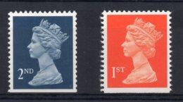 Great Britain - 1990 - 1st & 2nd Class Machin (Litho, Perf 14) - MNH - Nuovi
