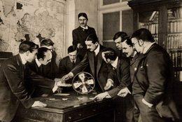 Roulette Casino  ELECTRIC FAN AS WHEEL    12*9CM Fonds Victor FORBIN 1864-1947 - Profesiones