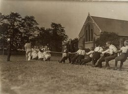 NINOS KIDS PLAY GAMES IN LONDON LONDRES ENGLAND    15*11CM Fonds Victor FORBIN 1864-1947 - Fotos