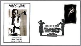 Trompetista Y Compositor De JAZZ MILES DAVIS. SPD/FDC New York NY 2012 - Música