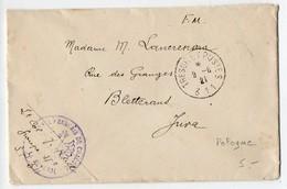 CaD 'Trésor Et Postes 311' Sur Lettre De 1921 - Occupation Française En Pologne - Marcofilia (sobres)