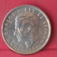 SPAIN 100 PESETAS 1986 -    KM# 833 - (Nº29036) - [ 5] 1949-… : Kingdom