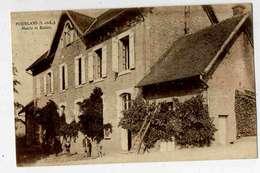 POURLANS  Mairie Et écoles - France