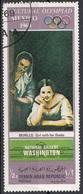 """Yemen 1968 YAR Mi. 1000 """"Galiziane Alla Finestra"""" Quadro Dipinto Murillo Olimpiadi Mexico National Gallery Washington - Yemen"""