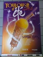 Affiches  - Toulouse D' Eté En 2005 Musiques .. - Afiches