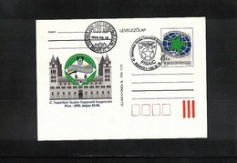 Hungary / Ungarn 1995 Esperanto Congress Interesting Postcard - Esperanto