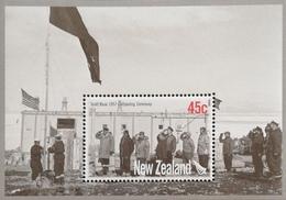 New Zealand   2007 Scott Base ,Antarctica,50th. Anniv. S/S - New Zealand