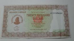 2003 - Zimbabwe - 20000 DOLLARS - JC 1065630 - Zimbabwe