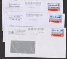 Lot Wunschbfm PostModern Werbung Moritzburg 3 Haselnüssee Für Aschenbrödel, Weihnachts-Circus Dresdner Kinderfestival - Privé- & Lokale Post