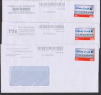 Lot Wunschbfm PostModern Werbung Moritzburg 3 Haselnüsse Für Aschenbrödel, Carte Blanche Travestie, Radebeul Lößnitz - Privé- & Lokale Post
