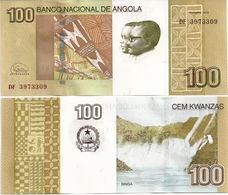 ANGOLA       100 Kwanzas       P-153[b]       10.2012 (2018)       UNC  [ Sign. V. Filipe ] - Angola
