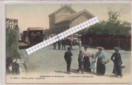 """EECKEREN-EKEREN-ANTWERPEN """"AANKOMST TE EECKEREN-L'ARRIVEE A EECKEREN-GEKLEURDE PK""""HOELEN 1490 UITGIFTE 1905 TYPE3 - Antwerpen"""