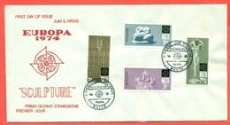 EUROPA CEPT-EUROPE- FDC MALTA 1974- - Malta