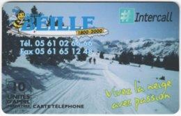 FRANCE C-488 Prepaid Intercall - Landscape, Winter - Used - Francia