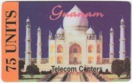 FRANCE C-492 Prepaid Gnanam - Landmark, Taj Mahal - Used - Frankreich