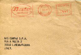 29232 Malaysia, Red Meter/freistempel/ema/ 1995 Kelang, Bata, ,  Circuled - Machine Stamps (ATM)