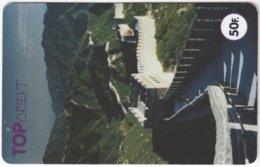 FRANCE C-545 Prepaid Top - Landmark, The Great Wall - Used - Frankreich