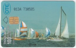 GREECE E-042 Chip OTE - Leisure, Sailing - Used - Griechenland