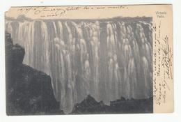 Victoria Falls Old Postcard Travelled 191? To Trieste B190601 - Zimbabwe