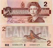 CANADA       2 Dollars        P-94c       1986       UNC - Canada