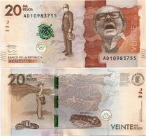COLOMBIA       20,000 Pesos       P-461[b]       2.8.2016 (2017)       UNC  [ 20000 ] - Colombia