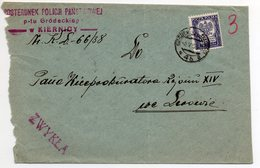 Poland Ukraine Kiernica 1938 - 1919-1939 Republic