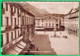 LECCO. Monumento A Garibaldi.  593 - Lecco