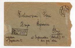 Poland Ukraine Registered Tlumacz 1935 - 1919-1939 Republic