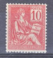 France 116 Mouchon  Neuf Avec Trace De Charnière  * TB  MH  Con Charnela Cote 50 J - France