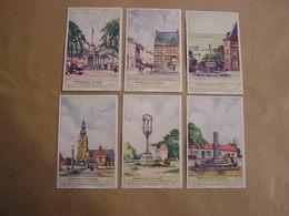 LIEBIG Perrons Et Piloris Liège Theux Braine Le Château Mespelaere Stavelot  Série De 6 Chromos Trading Cards Chromo - Liebig