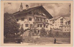 Österreich/Tirol - Kastelruth Kurpension, Sw-AK Gelaufen 1909 - Non Classificati