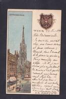 AK Illustrateur Vienne Wien Stephanskirche Heraldique 1898 - Églises