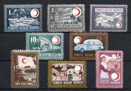 Turquía Beneficencia Nº 122/29 En Nuevo - 1921-... República