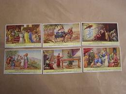 LIEBIG L'Enfance De Jésus Histoire Religieuse Religion   Série De 6 Chromos Trading Cards Chromo - Liebig