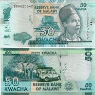 MALAWI       50 Kwacha       P-64[d]       1.1.2017       UNC  [ Sign. Chuka ] - Malawi