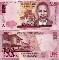 MALAWI       100 Kwacha       P-65c       1.1.2017       UNC  [ Sign. Chuka ] - Malawi