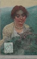 ILLUSTRATEUR B. CASCELLA ABRUZZO - Portrait De Femme - Autres Illustrateurs
