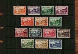 NORFOLK ISLAND - KG VI - 1947 - DEFS - 14 Stamps - MM - Norfolk Island