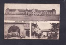 Vente Immediate  Neuf Brisach (68) - Caserne De Chasseurs à Pied 4è Bataillon ( Multivues  Animée J. KUNTZ éditeur) - Neuf Brisach