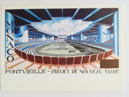 Monaco Fontvieille - Projet De Nouveau Stade - Monaco