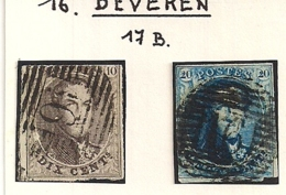 P16 BEVEREN NR.6+7 - 1851-1857 Medaillons (6/8)