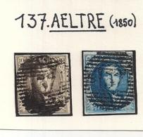 P137 AELTRE NR.6+7 - 1851-1857 Medaillons (6/8)